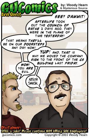 GU Comics by: Woody Hearn - Comics