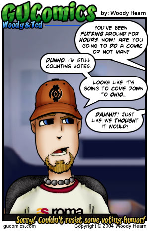 Comic for: November 3rd, 2004 - Click Here for more Info!