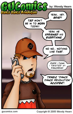 Comic for: April 29th, 2005 - Click Here for more Info!