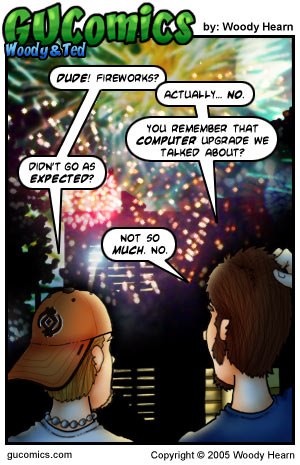 Comic for: July 4th, 2005 - Explanation not Available.