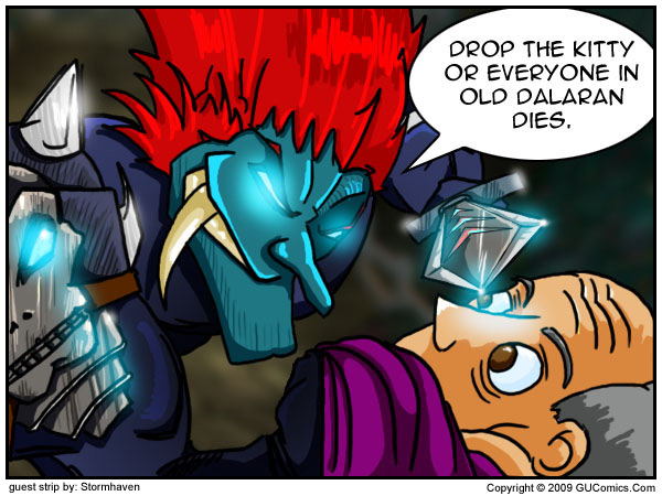 Comic for: August 28th, 2009 - Click Here for more Info!