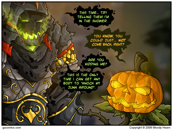 Comic for: October 19th, 2009 - Click Here for more Info!