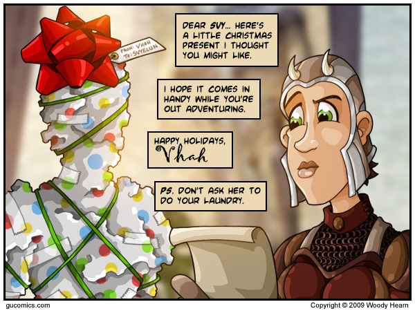 Comic for: December 23rd, 2009 - Explanation not Available.