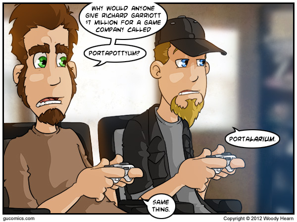 Comic for: July 11th, 2012