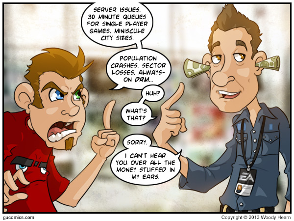 Comic for: March 8th, 2013 - Click Here for more Info!