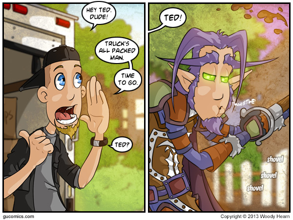 Comic for: July 24th, 2013 - Click Here for more Info!