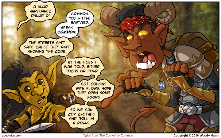 Comic for: December 3rd, 2016 - Click Here for more Info!